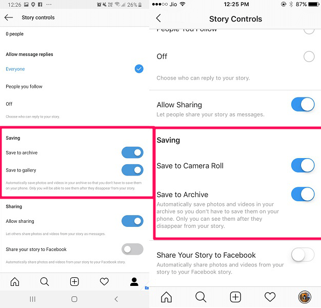 save your instagram stories