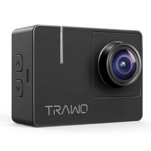 best small action camera - Apeman native 4K TRAWO