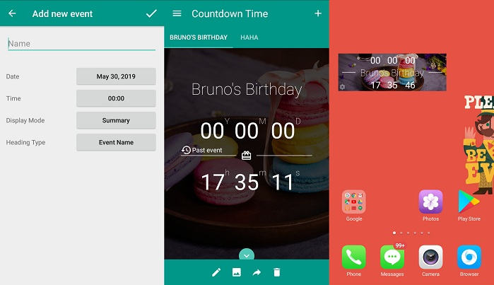 Countdown Time - Event Countdown and Big Days Widget