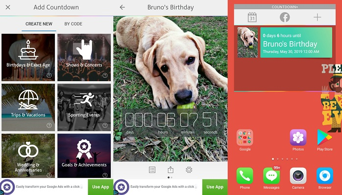 Countdown + Widget Calendar Lite - best day counter app