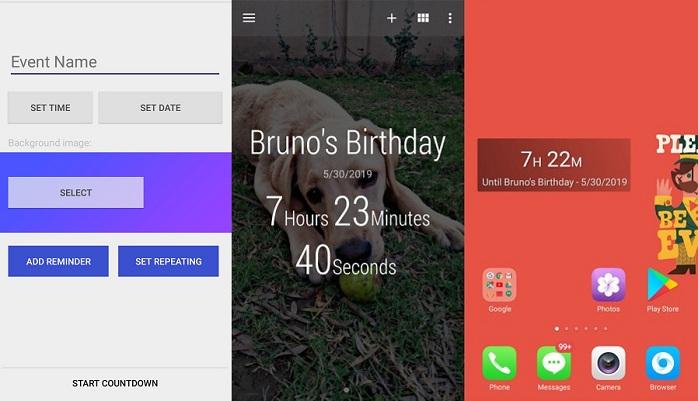 Time Until Beautiful Countdown app