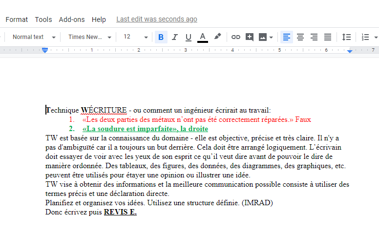 Translated article(french)