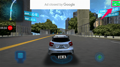 check fps count on android game