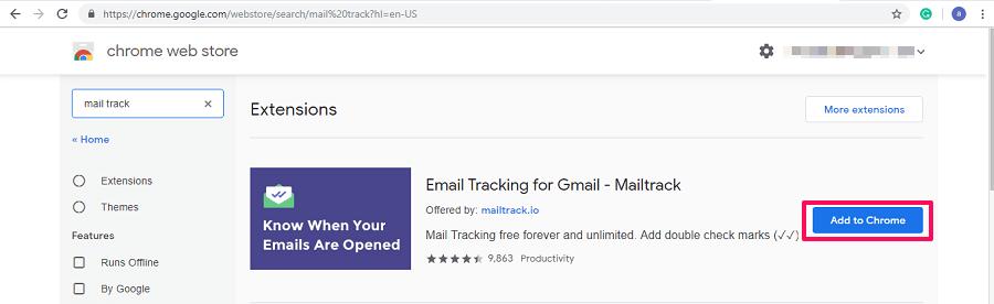 Add MailTrack