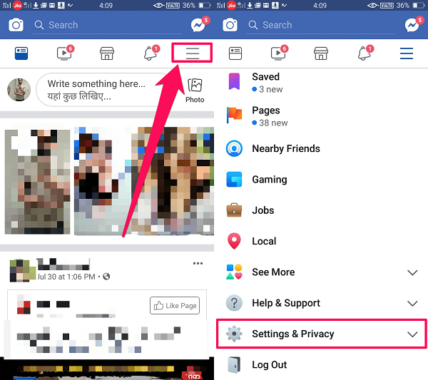 Fb Settings and privacy