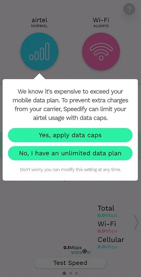 limit mobile data use