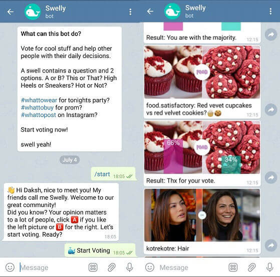 swelly Telegram bot