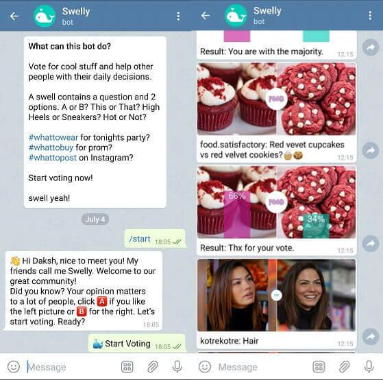 swelly Telegram bot