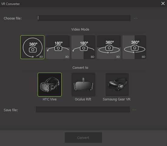 VR converter