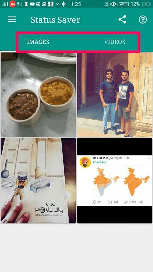 whatsapp status of others