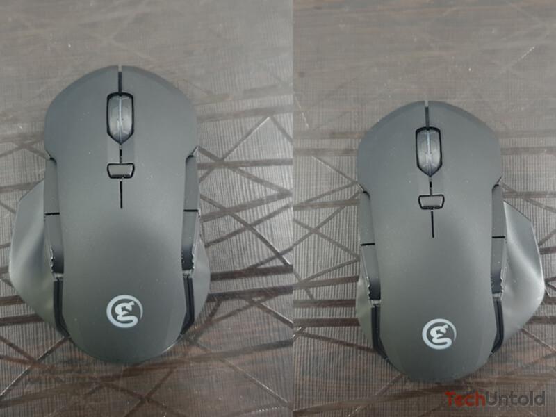 GM300 ambidextrous design