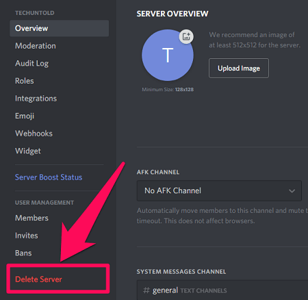 How To Delete Discord Account | TechUntold