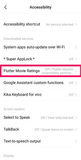 give permission to flutter