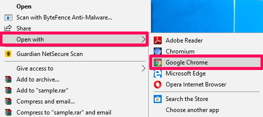 open pdf file without Adobe Reader