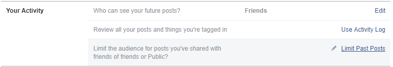 make Facebook private