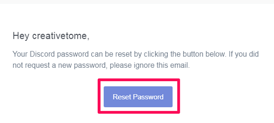 reset password by email