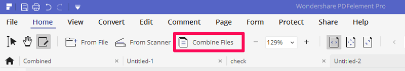 combining files