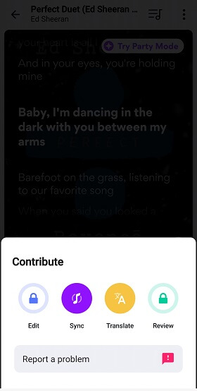 translate songs and sync music