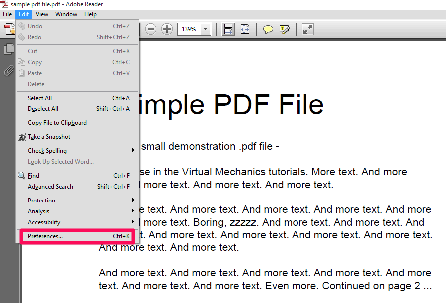 Edit PDF