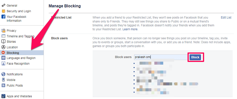 know if someone has blocked you on facebook or deactivated their account