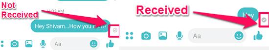 confirm messenger block or not