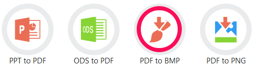 convert files using pdf candy app
