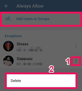 delete, add users to nobody option