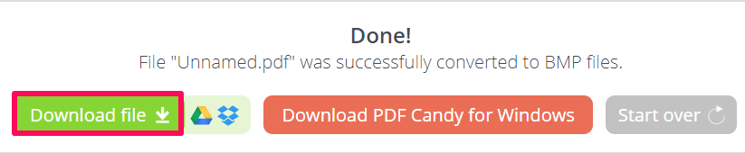 download file made by pdf candy