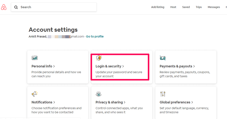 Airbnb security