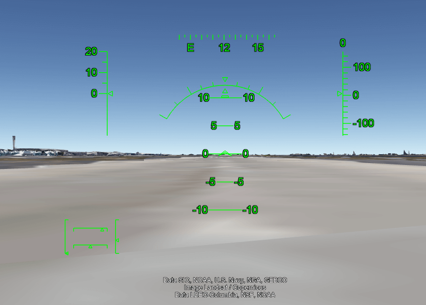 Fly a plane on Google Earth