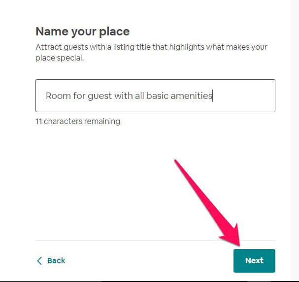 add listing name