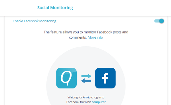facebook monitoring