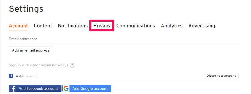 soundcloud privacy