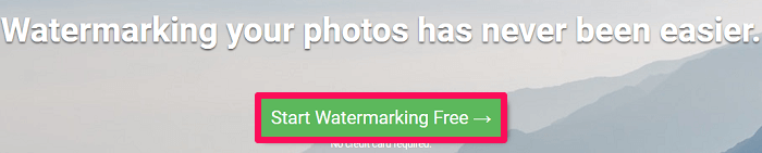 add watermark to photos using PC