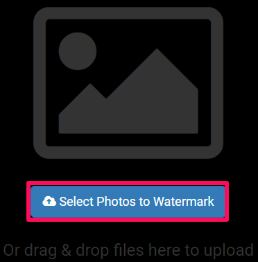 select photos to watermark