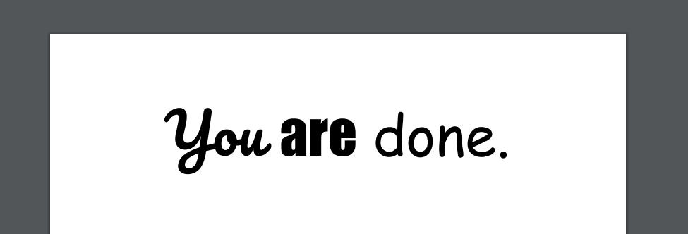 PDF is edited version
