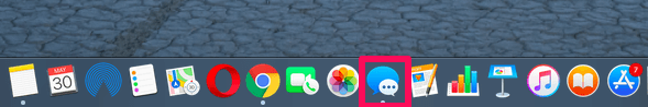 mac message icon