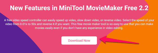 minitool movie maker download option