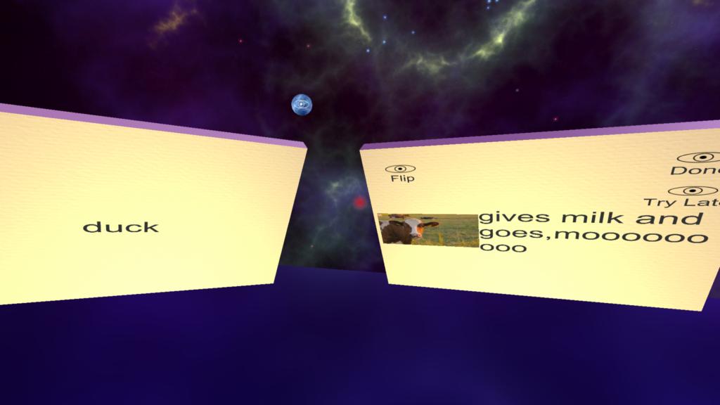 Flashcard VR For Google Cardboard