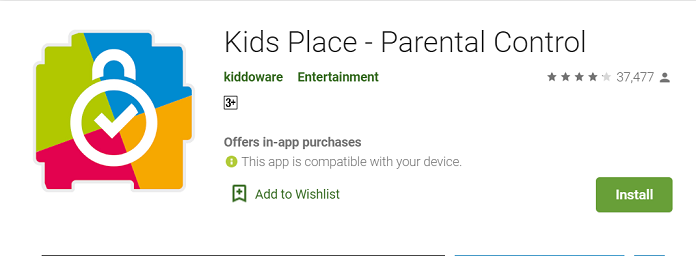 Kids Place - Parental Control