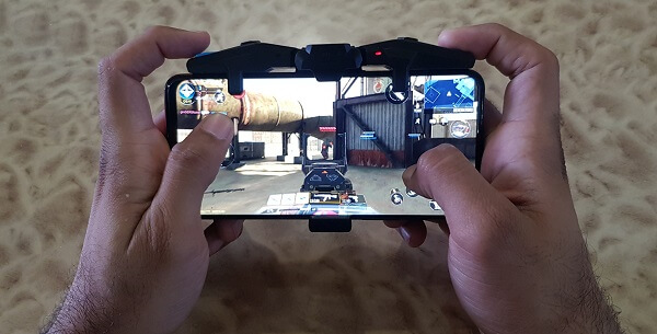 playing cod mobile