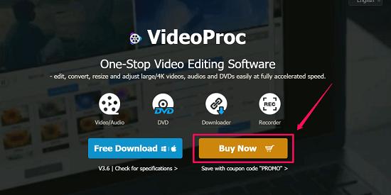 purchase videoproc