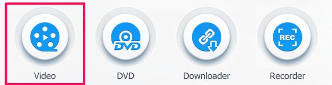 select video editing option