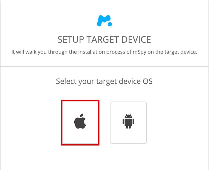 Setup Target Device