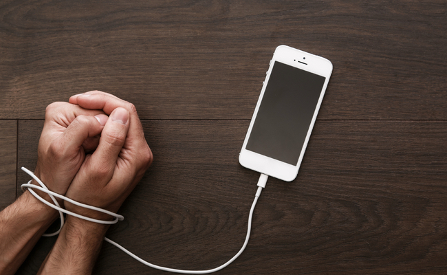 Smartphones can be addictive and cause mental health issues