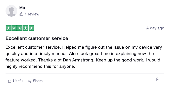 Customer service review of mSpy is key