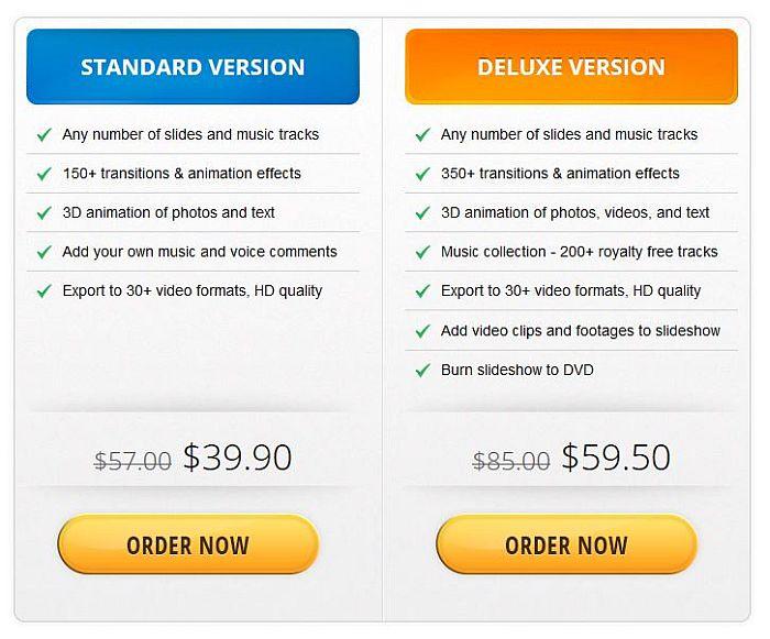 SmartSHOW 3D Payment Plans