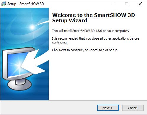 SmartSHOW 3D Windows Setup