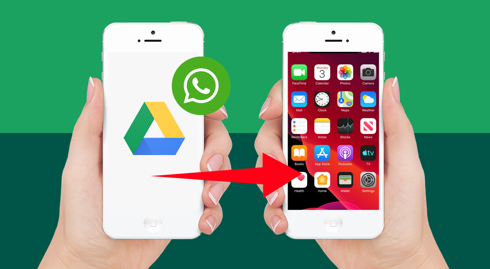 How To Back Up And Restore WhatsApp From Google Drive To iPhone