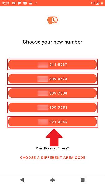Burner Choose number